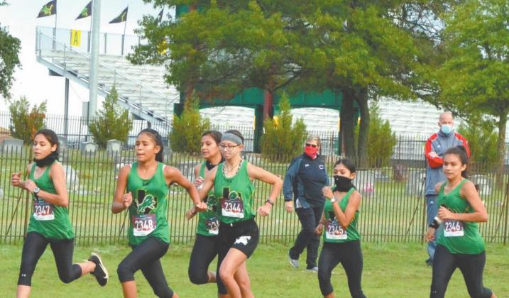 The Dublin Varisty Girls and boys team took second place and first place respectively at the Dublin Dash held Sept. 30. | Citizen staff photo
